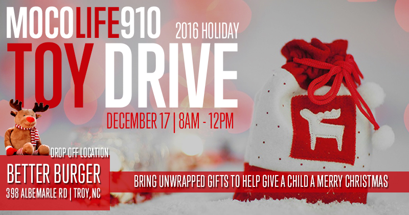 MoCoLife910 Toy Drive