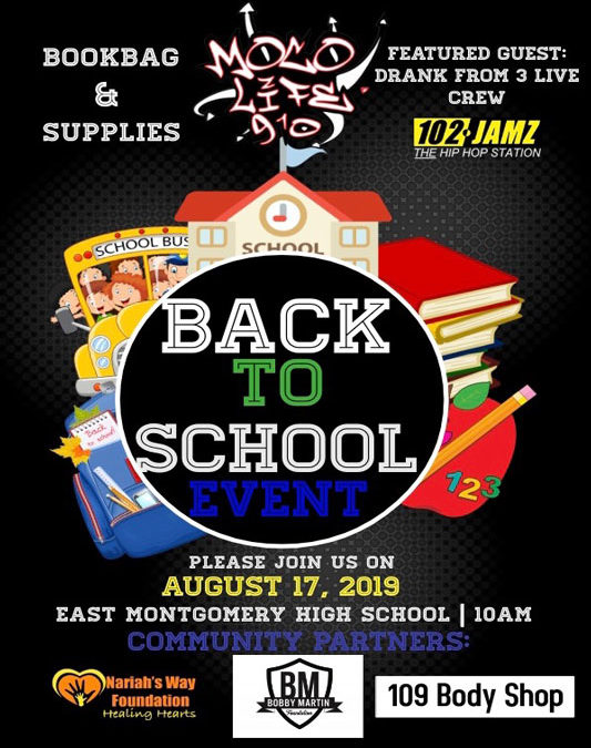 2019 Annual Back to School Drive